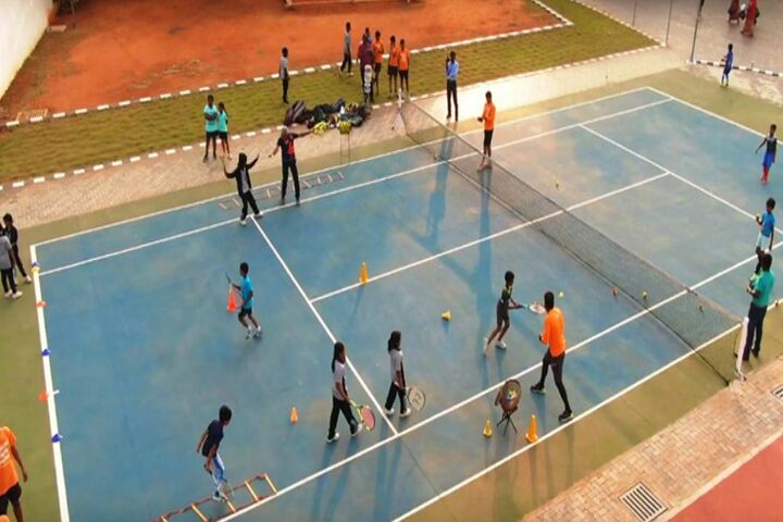 Queen Mira International School-Tennis Court