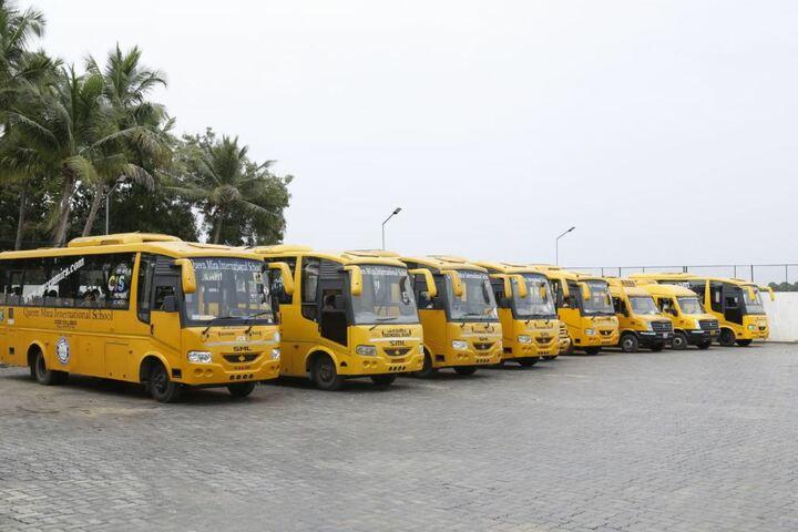 Queen Mira International School-Transportation