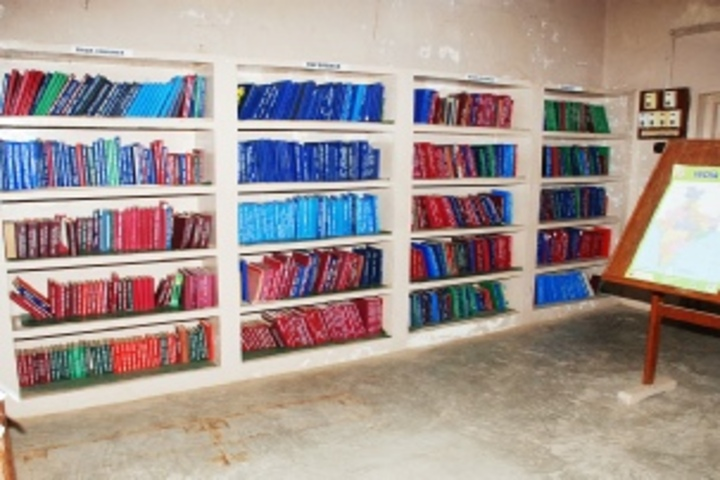 R S Krishnan Higher Secondary School - Library