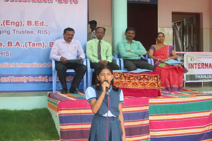 Radiant International School-Event