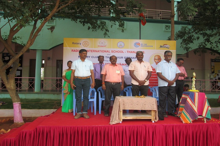Radiant International School-Lamping Ceremony