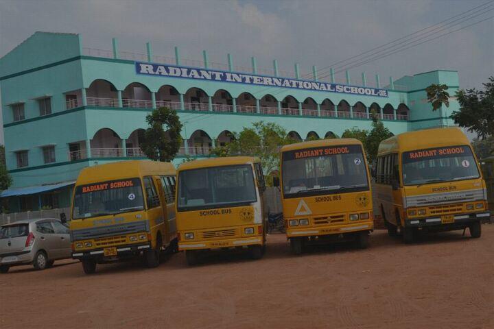 Radiant International School-School View and Transport
