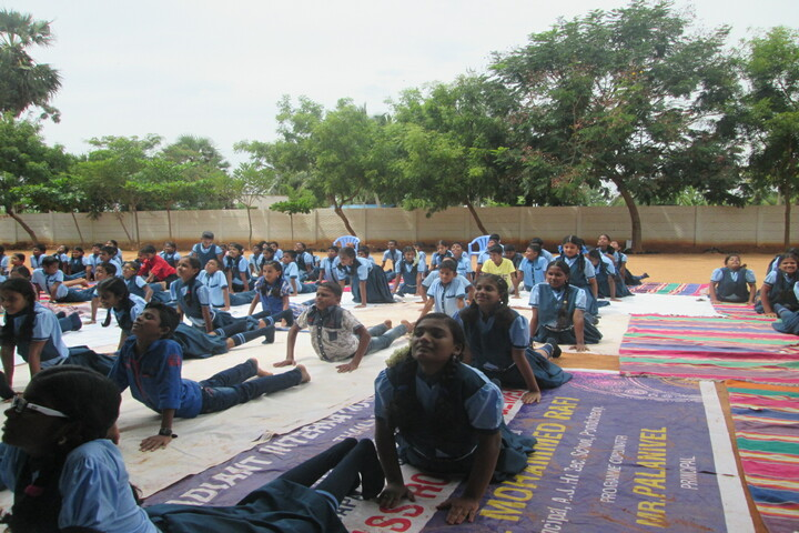 Radiant International School-Yoga Day
