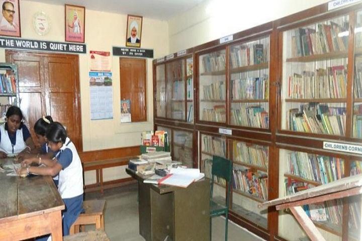 Railway Mixed High School  - Library