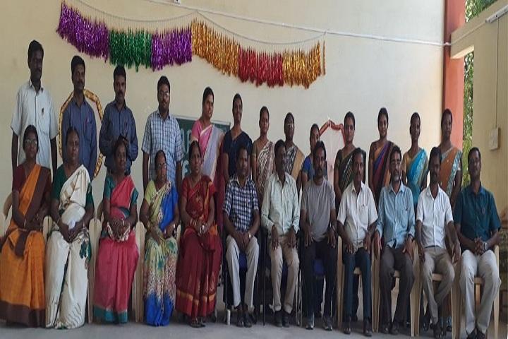 Railway Mixed High School  - Staff