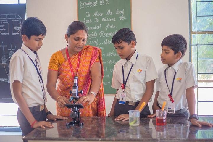 Ramachandra International Public School-Biology lab