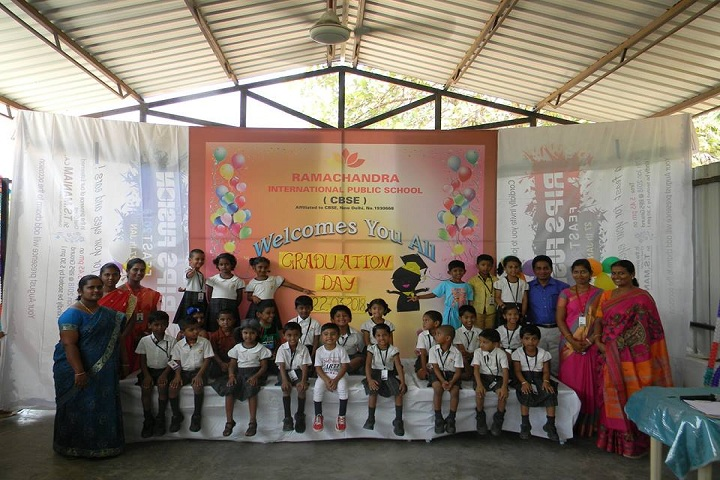 Ramachandra International Public School-graduation day