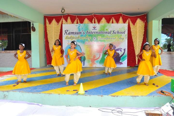 Ramsuns International School-Dances