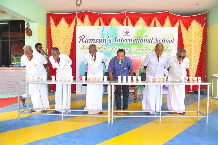 Ramsuns International School-Grand Parents Day Celebration