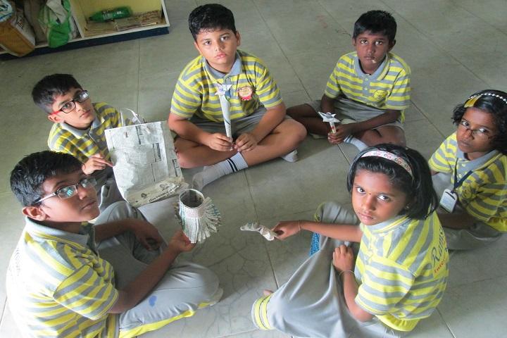 Ramsuns International School-News Paper Craft