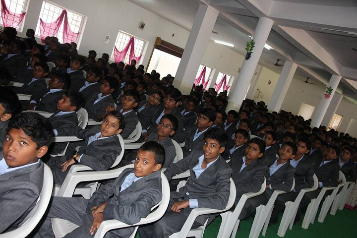 RD International School-Hall