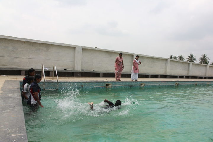 RD International School-Swimming Pool
