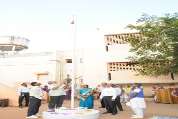 Reserve Bank Staff Quarters School-Republic day