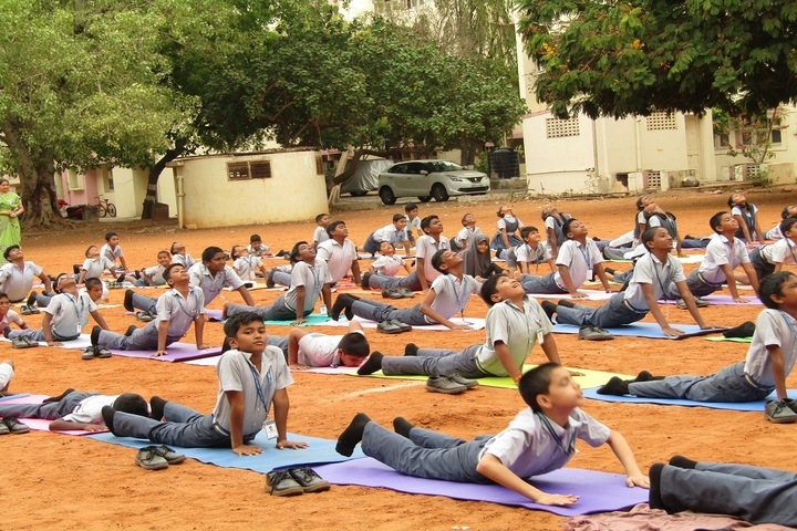 Reserve Bank Staff Quarters School-Yoga