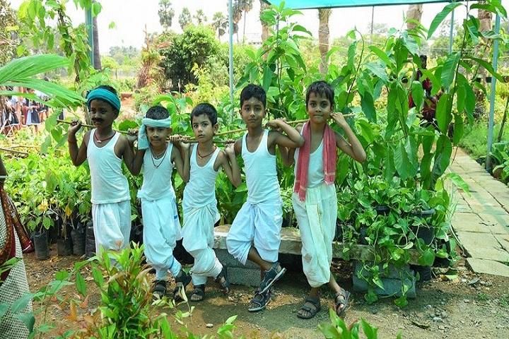 Royal International School-Farming day