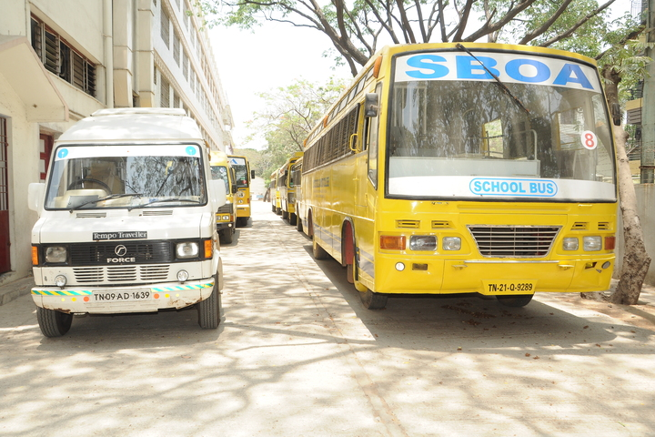 S B O A School and Junior College-Transport
