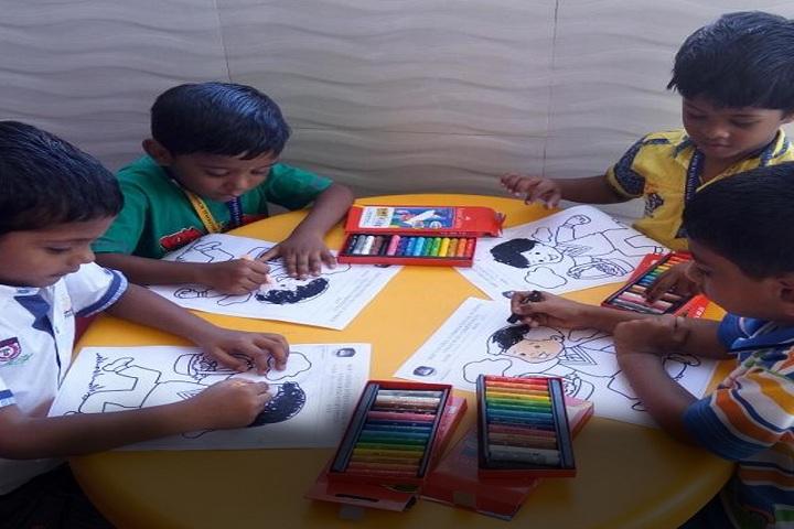 S K P Vanitha International School-Art