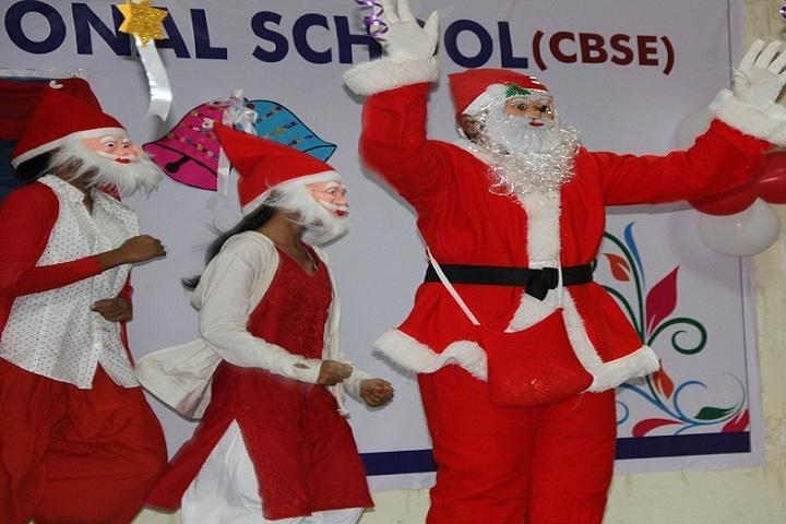 S K P Vanitha International School-Christmas-Celebration