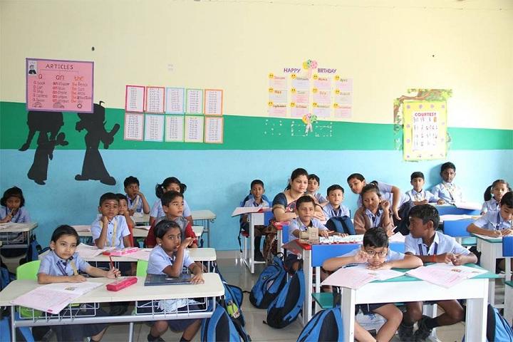 S K P Vanitha International School-Classroom