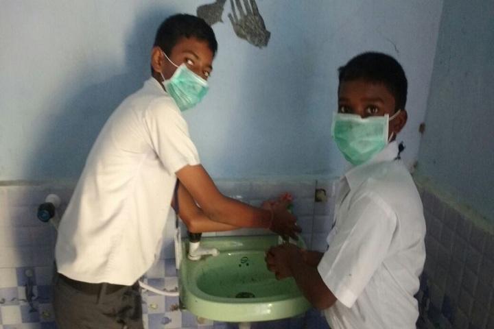 S S Citizen School-Wash-Room