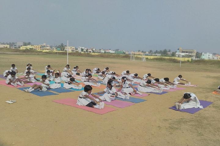 S S Citizen School-Yoga