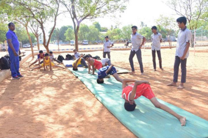 Samadh Higher Secondary School-Gymnastics