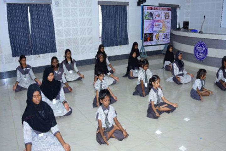 Samadh Higher Secondary School-Yoga
