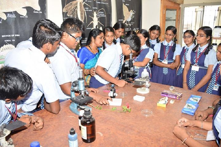 Santhanam Vidhyalaya-Science Lab