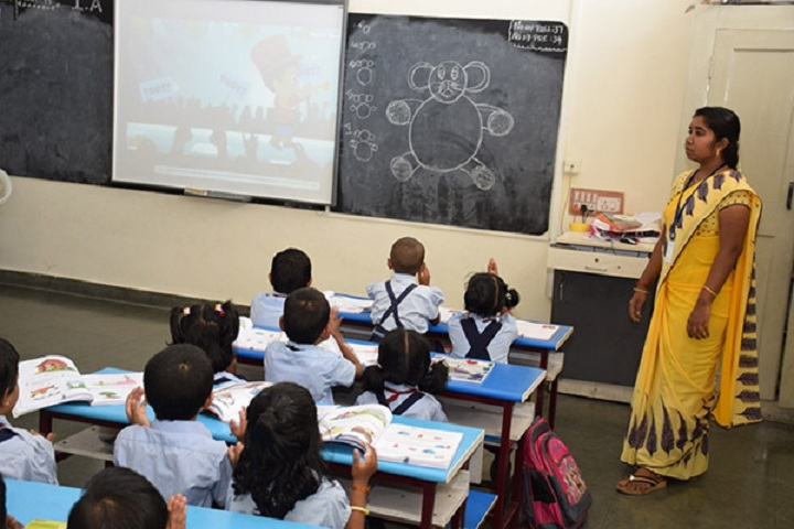 Santhanam Vidhyalaya-Smart Class