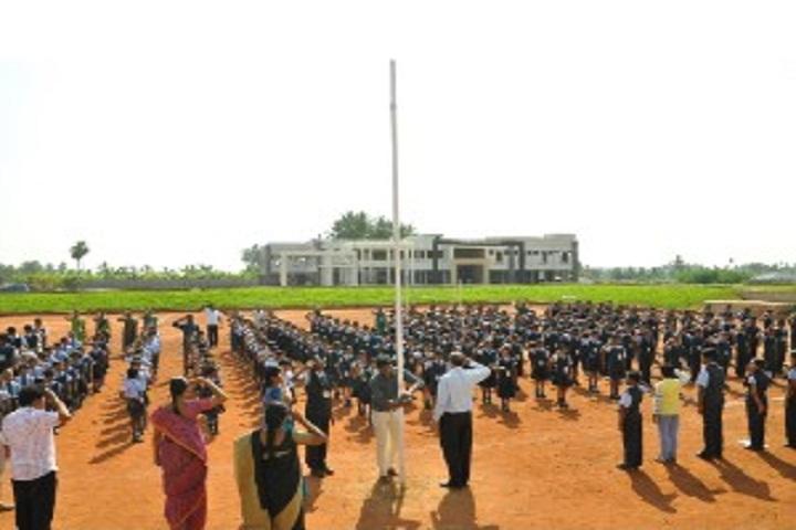 Saratha International School-Assembly