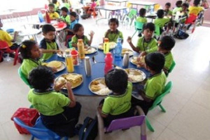 Saratha International School-Cafeteria