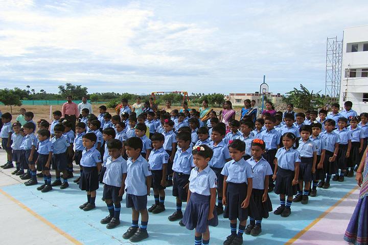 Sathyam International School-Assembly