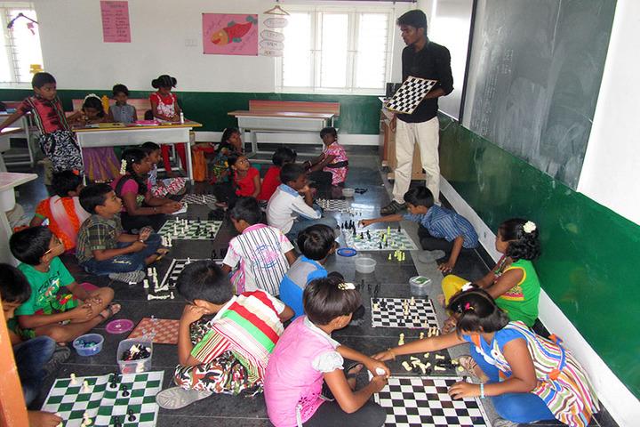 Sathyam International School-Indoor Games