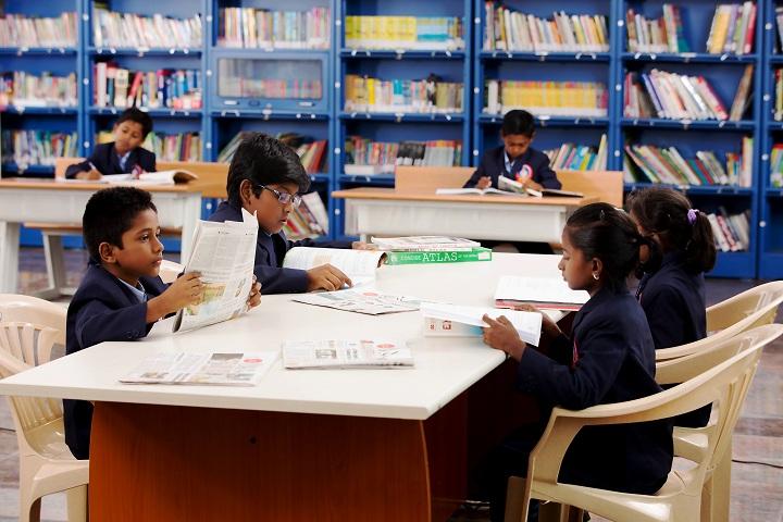 Sathyam International School-Library