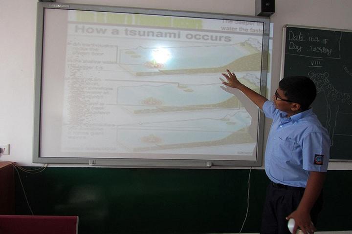 Sathyam International School-Smart Classroom