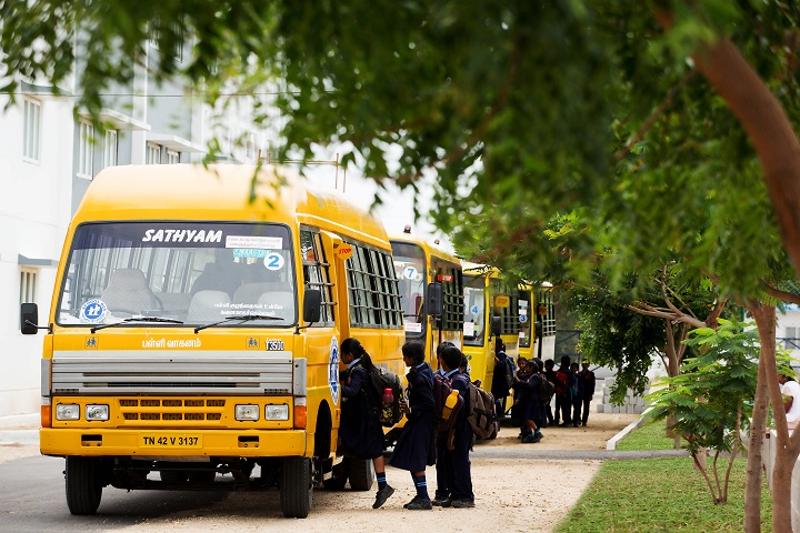 Sathyam International School-Transport