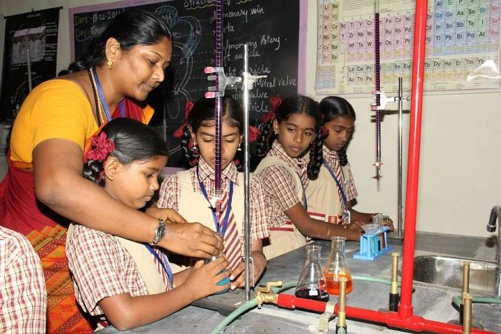 SBG Vidhyalaya-Chemistry Lab