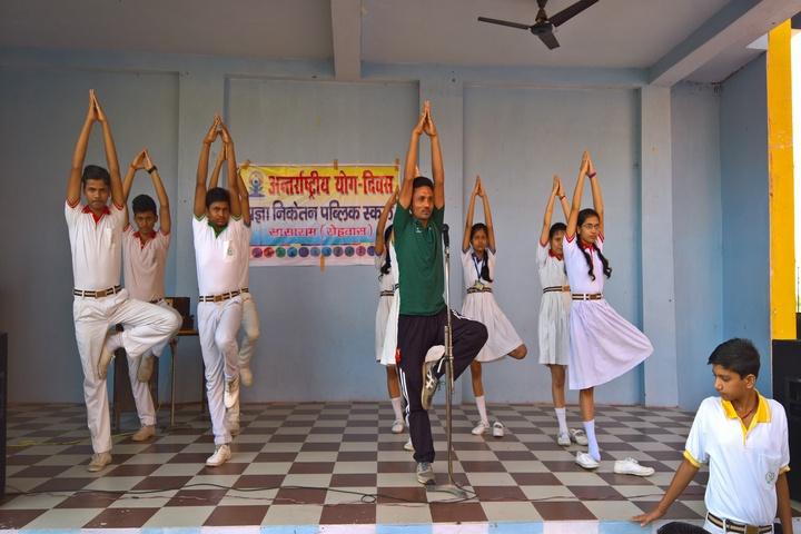 Pragya Niketan Public School-Yoga Day