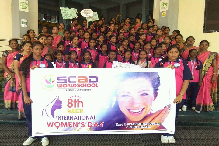 SCAD World School-Womens Day