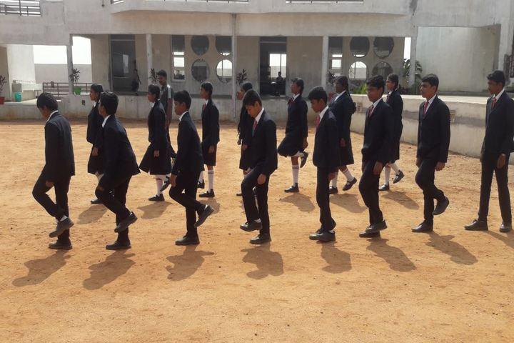 SCISM Public School-March Past