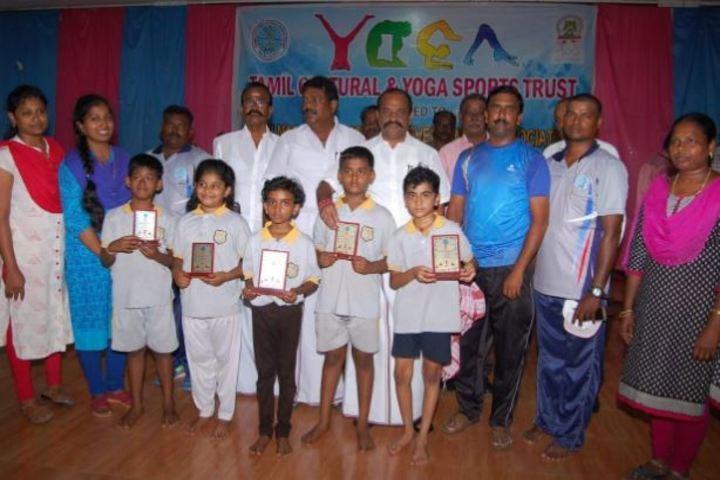 SCISM Public School-Yoga Winners