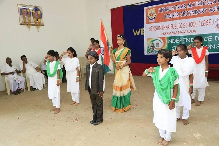 Sengunthar Public School-Independence day Celebration