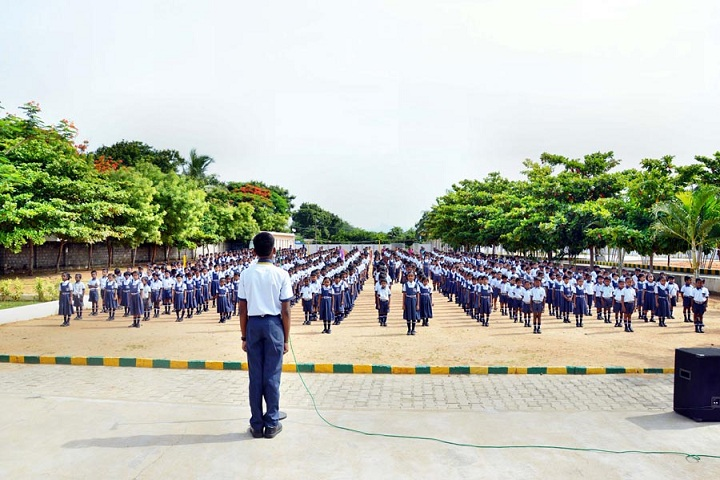 Shakthi Public School-Assembly