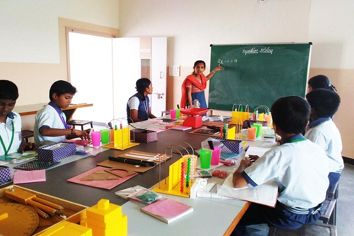 Shakthi Public School-Maths Lab