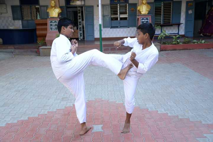 Shakti Vinayakar Hindu Vidyalaya S S-Karate