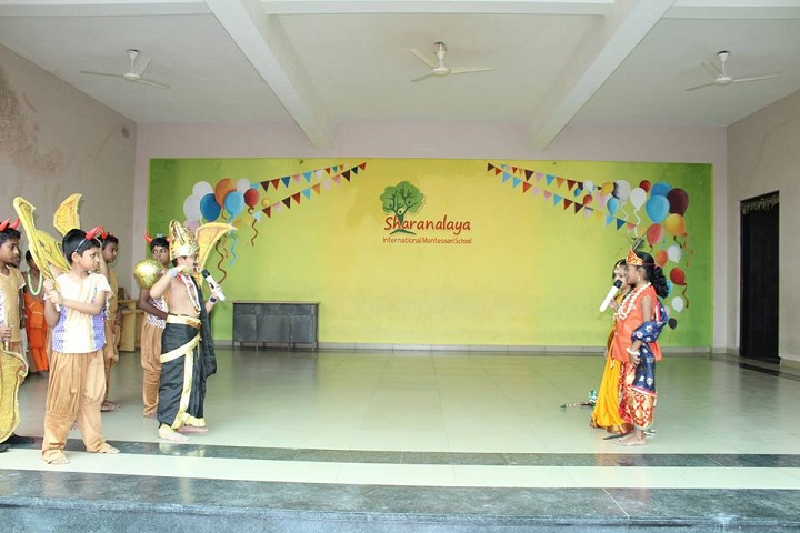 Sharanalaya International Montessori School-Drama