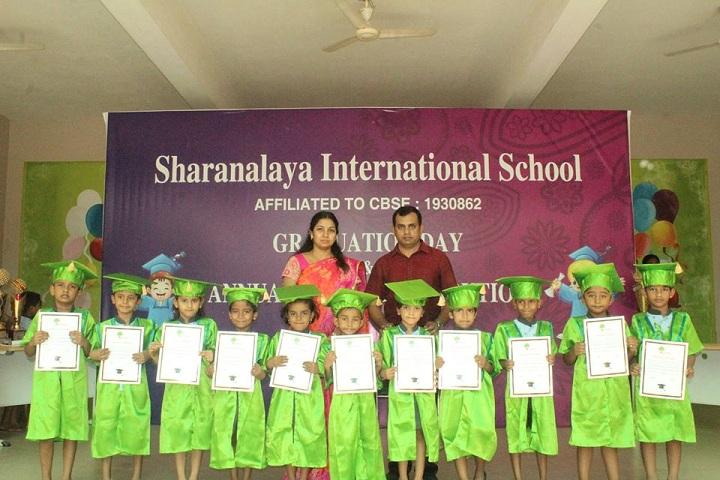 Sharanalaya International Montessori School-Graduation day