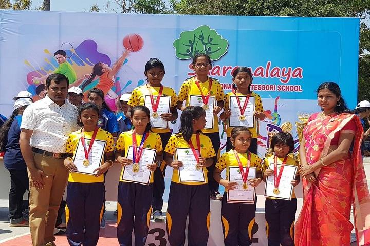 Sharanalaya International Montessori School-Sports day