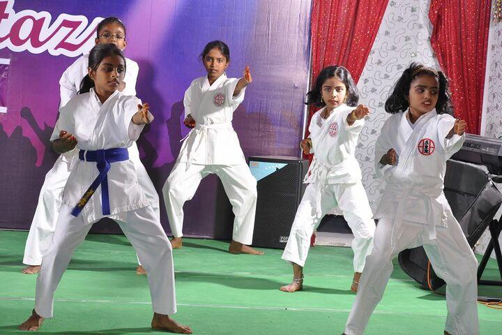 Shemford Futuristic School-Karate