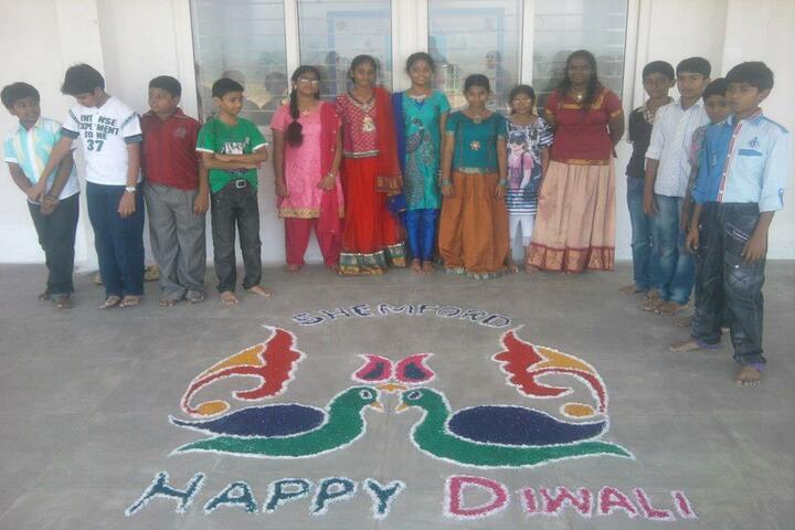 Shemford Futuristic SchoolDiwali Celebrations